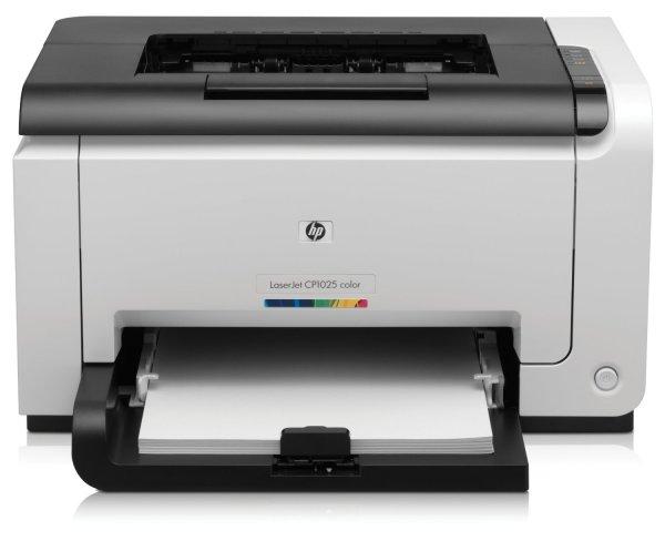 HP CP1025 Color LaserJet Pro Farblaserdrucker @Amazon 96.50€ !!! Nur bis 14 Uhr !!!