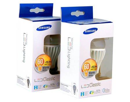 [Meinpaket] 2x E27 Samsung LED SI-I8W121140EU für 8,90 Euro