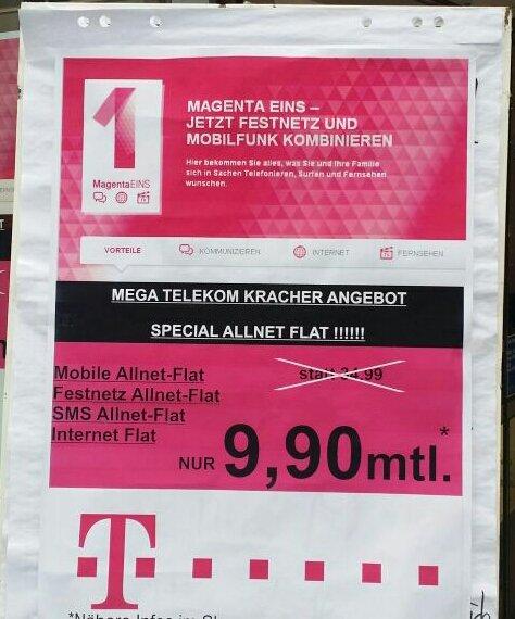 Telekom special allnet flat für 9,90€