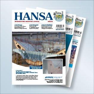 Kostenloses Exemplar der Zeitschrift HANSA International - Wert 14Euro-