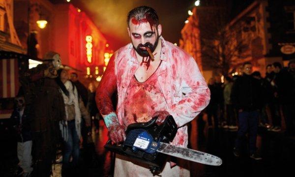 Tageskarte für Movie Park + Frei Parken (Halloween Horror Fest) am Samstag 18. oder 25.10.2014 für 27 €