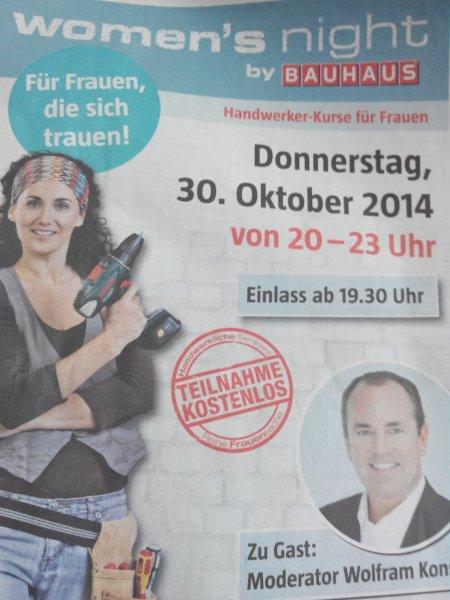 (lokal 53332 Bornheim)Bauhaus Women 's  night...