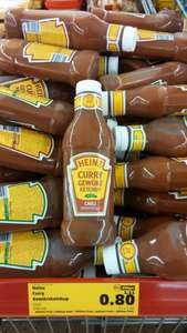 [LOKAL- Penny Glinde] Heinz Curry Ketchup Chili 650g 0,80 €