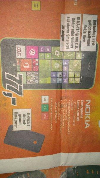 [lokal Bayern] NOKIA Lumia 530 DualSIM, 77,- EUR