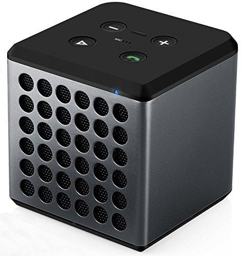 [Amazon] 30% Rabatt EasyAcc Music Cube Bluetooth Lautsprecher mit eingebauter Freisprecheinrichtung und aufladbarem Lithium Akku