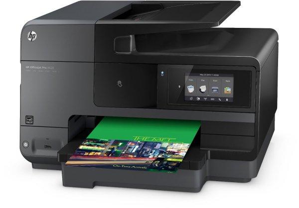 HP Officejet Pro 8620 e-All-in-One Tintenstrahl Multifunktionsdrucker (A4, Drucker, Scanner, Kopierer, Fax, NFC, Wlan, USB, 4800x1200) für  181,97 € @Amazon.it