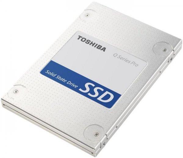 TOSHIBA SSD – Q-SERIES PRO – 256 GB @Mediamarkt 99 €