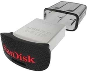 SANDISK Ultra Fit USB 3.0 Flash-Laufwerk, 32 GB für 14.-@Mediamarkt
