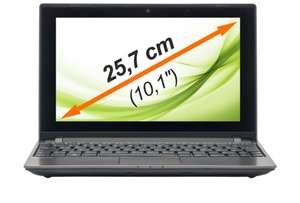 "MEDION THE TOUCH 10 E1318T Netbook 10""/25,4cm 500GB HDD 4GB AMD Windows 8.1 für nur 189,99€"