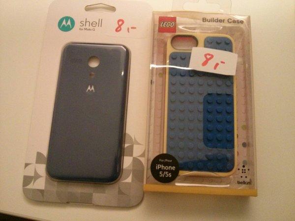 [Lokal] Iphone 5/5s Lego Hüllen / Motorola Moto G Shell