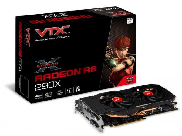 VTX3D Radeon R9 290X X-Edition V2 @Caseking