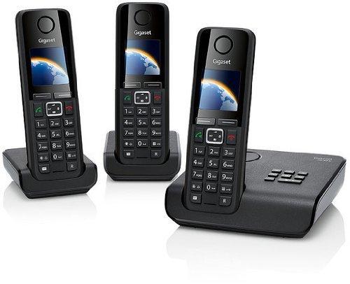 [Amazon WHD] Gigaset A630 A Trio Schnurlostelefon (4,3 cm (1,7 Zoll) Grafik-Display, Freisprecheinrichtung, Anrufbeantworter) schwarz für 67,88€ (sehr gut)