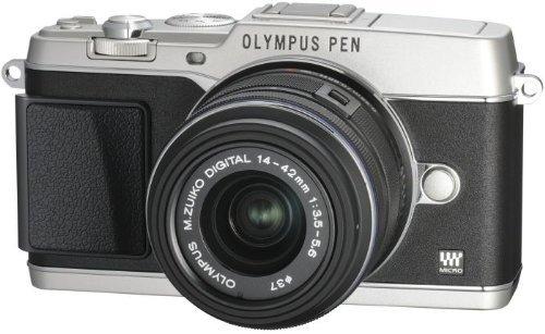 Olympus Pen E-P5 Kit 14-42 mm (silber) für 639€ @Amazon.de