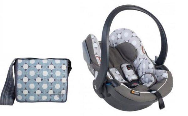 BeSafe iZi Go X1 Limited Edition Lässig Design Babyschale + GRATIS Wickeltasche im Wert von 99 € Gratis