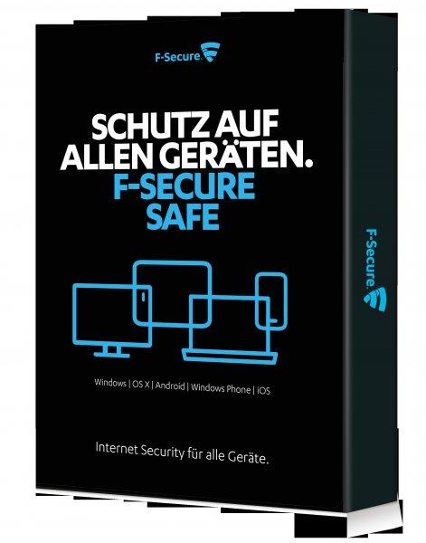 F-Secure SAFE Internet Security 2015 bis zu 80% günstiger