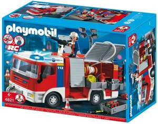 [3% Qipu] PLAYMOBIL 4821 - Feuerwehr-Rüstfahrzeug für 34,90€ zzgl. 4,99€ Versand @pixmania