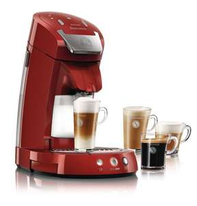 Philips HD7854/80 Kaffeepadmaschine, Senseo Latte Select, rot, Amazon Blitzangebot!!