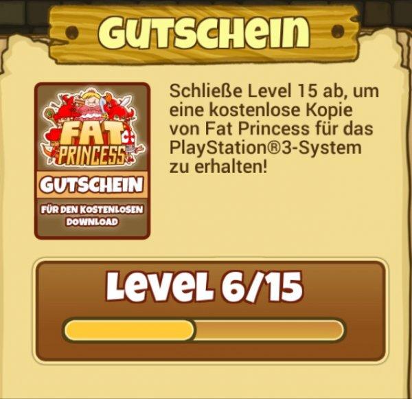 Fat Princess für die PlayStation 3 kostenlos mit etwas Aufwand und iOS/Android