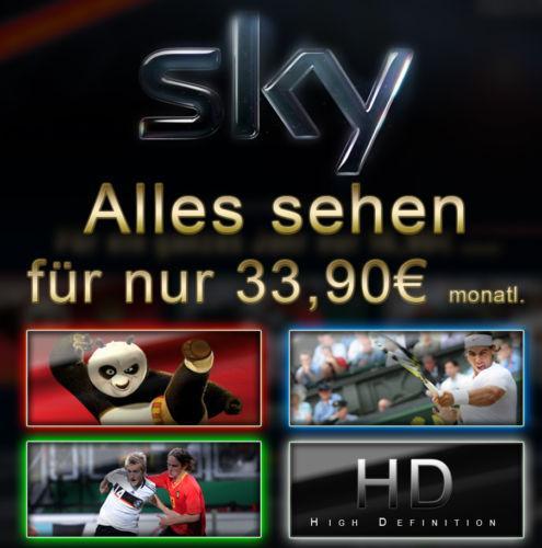 [NEUKUNDEN] Sky für rechnerisch 38,90€/Monat (33,90€ + Gutscheinpreis 60€)