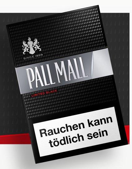 KOSTENLOS: Pall Mall Limited Black oder Silver