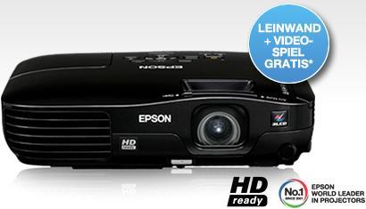 """Update: HD-Beamer Epson EH-TW450 + 80""""-Leinwand + Spiel vom 01.09.-31.10.11 noch günstiger!"""