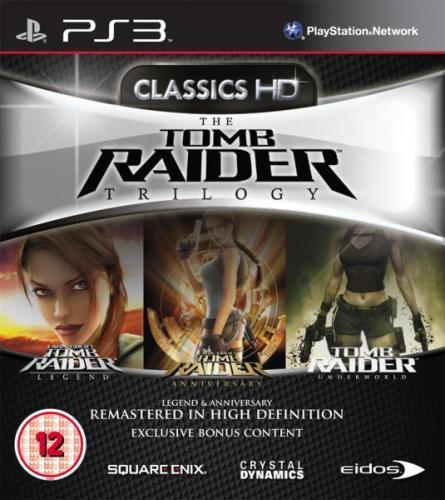 Tomb Raider Trilogy (PS3) in HD  für 11,40 inkl. Versand bei Zavvi