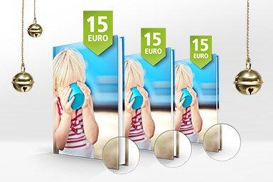 PosterXXL A4-Hardcover Fotobuch bis 96 Seiten 20€ +VSK