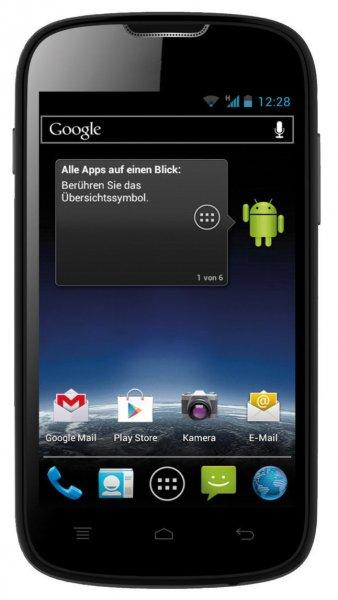 MEDION LIFE E4001 Smartphone 4   4GB Android 4.0 @ebay 49,99€