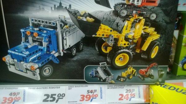 Lokal: Lego Technik Baustellenset 42023 im Real Nienburg (vielleicht auch in anderen?) für 39,90