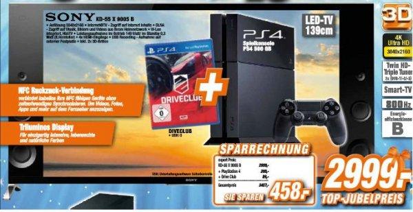 Sony KD-55X9005B + PS4 + Driveclub @expert