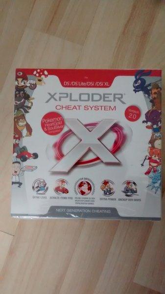[LOKAL? / Tedi] X-Ploder Cheat System Schummelmodul für Nintendo DS