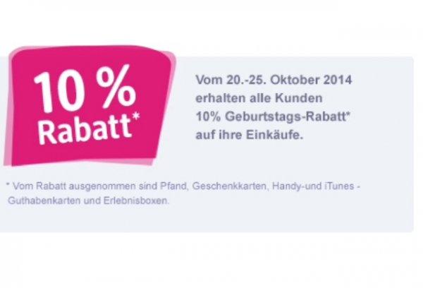 10% bei dm auf kompletten Einkauf [lokal Ilsfeld]