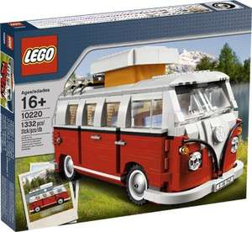 Lego Volkswagen T1 Campingbus 10220 Intertoys 84,99€