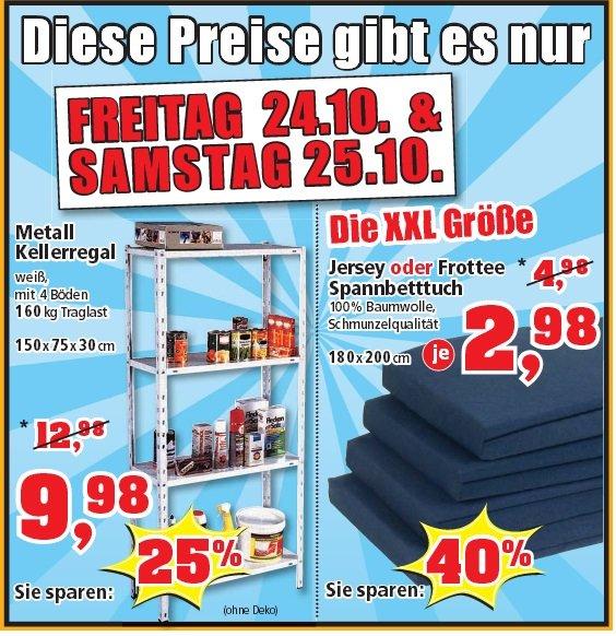 [Thomas Philipps]  Metall Kellerregal Modell: Freeload 9,98€ am 24&25.10
