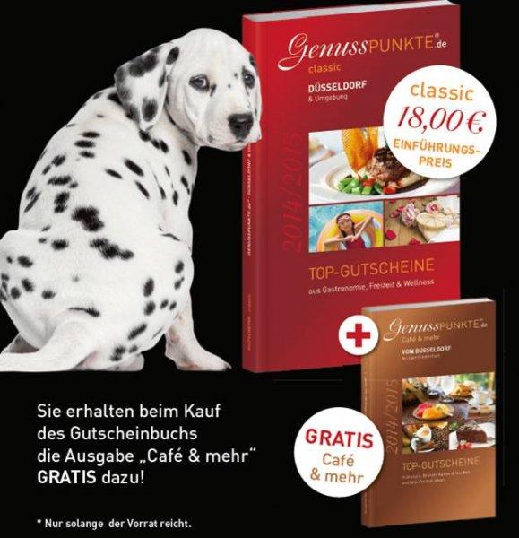 42% Rabatt auf Gutscheinbuch Düsseldorf, Neuss, Krefeld, Kreis Viersen. 18 Euro statt 31,40 Euro