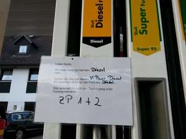 [Lokal Overath] Shell V-Power Diesel für 1.24 €