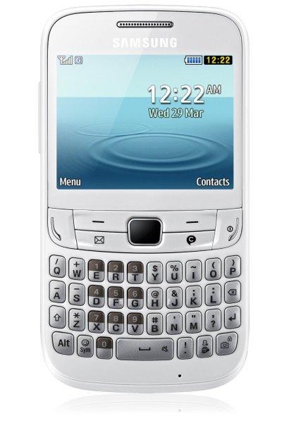 Tastaturhandy Messaging Facebook Handy Samsung Chat 357 @ 29,99 ( wie Neuzustand)