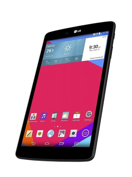 [amazon.fr] LG G Pad 8.0 ( IPS ) Tablet Wi-Fi 16 GB Android 4.4 schwarz inkl. Vsk für 173,43 €