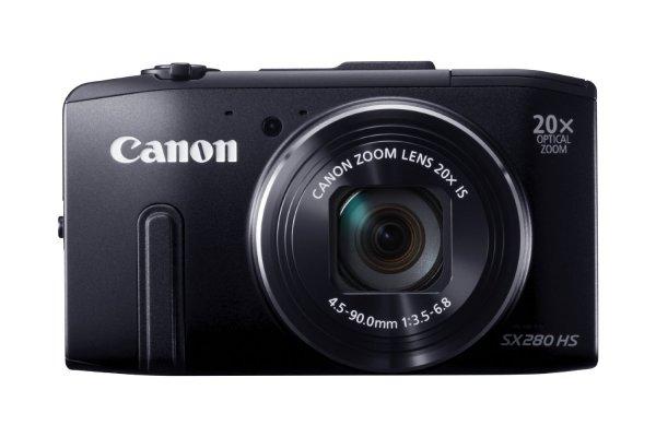 Canon PowerShot SX 280 HS Digitalkamera (12 Megapixel, 20-fach opt. Zoom, GPS, WLAN) [amazon]