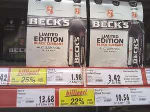 Beck's Black Currant (Sixpack) @Kaufland Bergisch Gladbach