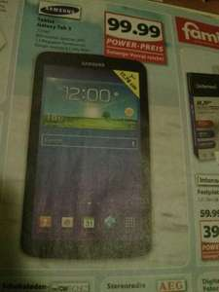 [lokal] Samsung Galaxy Tab 3 7.0 nicht lite