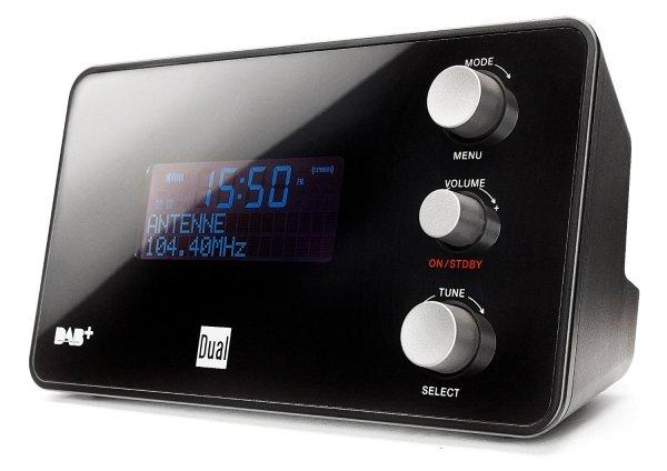 [Blitzangebot - 2% Qipu] Dual DAB+ Radio DAB CR 25 Radiowecker in schwarz für 47,99€ @Voelkner