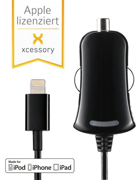 [Amazon] Autoladekabel (2100 mA, 1 Meter) für Apple