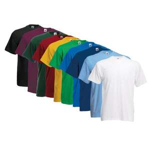 EBAY - 3x Fruit of the Loom T-Shirt für 8,99 € inkl. Versand