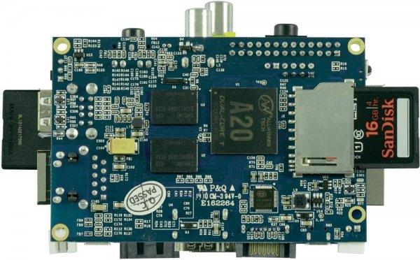 Allnet Banana Pi - Mini-PC Board, 1GHz Dual Core, 1GB RAM für 34€ @Voelkner