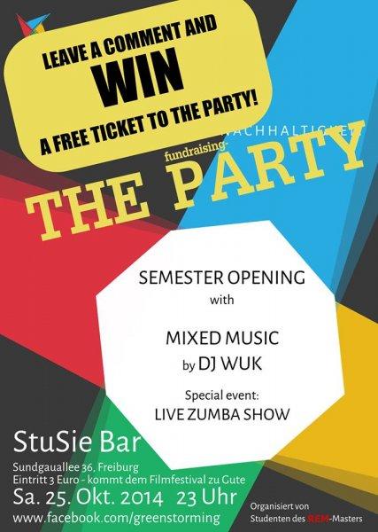 Gästelistenplatz für Studentenparty in Freiburg, StuSie Bar, Sa. 25.10.2014
