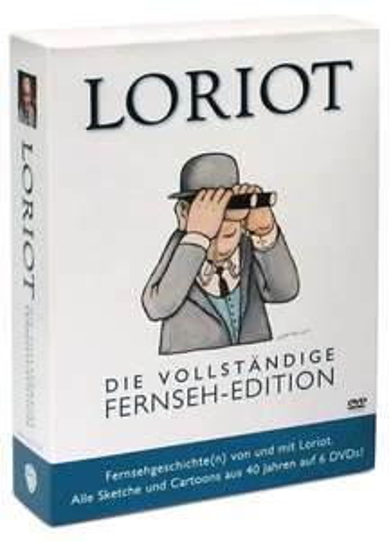 Loriot - Die vollständige Fernseh-Edition [6 DVDs] für 21,99€ @Amazon Prime