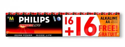 32 Mignon-Batterien von Philips für 8,99 Euro