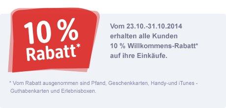 [WÜRZBURG] DM Neueröffnung 10% auf Alles 23.10.-31.10. + Kleine Geschenke für Alle am 23.10.