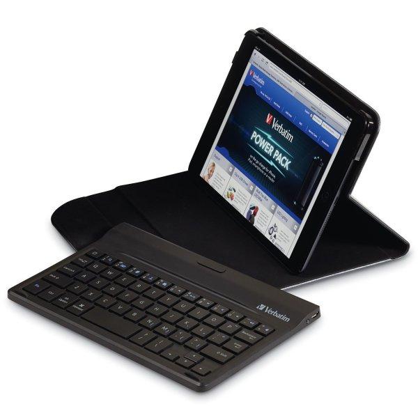 Verbatim iPad mini Schutzhülle mit Bluetooth Tastatur 25,90 Euro